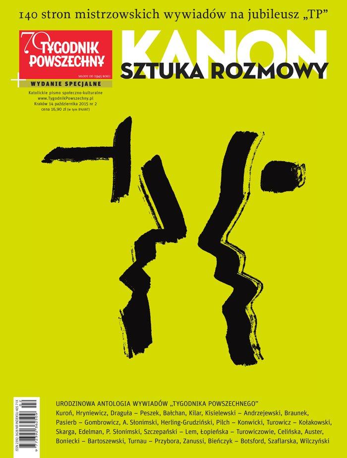 """KANON. Sztuka rozmowy. II wydanie specjalne """"Tygodnika Powszechnego"""" - Ebook (Książka na Kindle) do pobrania w formacie MOBI"""