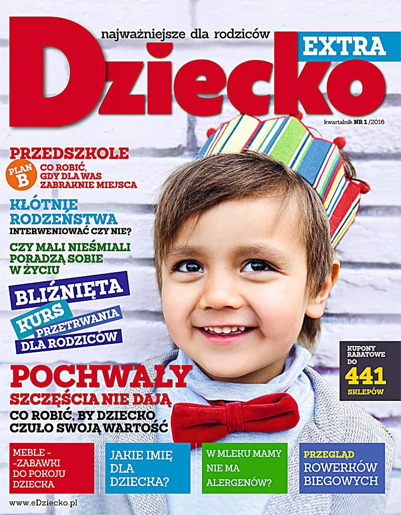 Dziecko Extra 1/2016 - Ebook (Książka PDF) do pobrania w formacie PDF