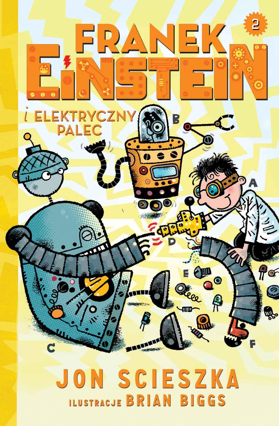 Franek Einstein i elektryczny palec - Ebook (Książka EPUB) do pobrania w formacie EPUB