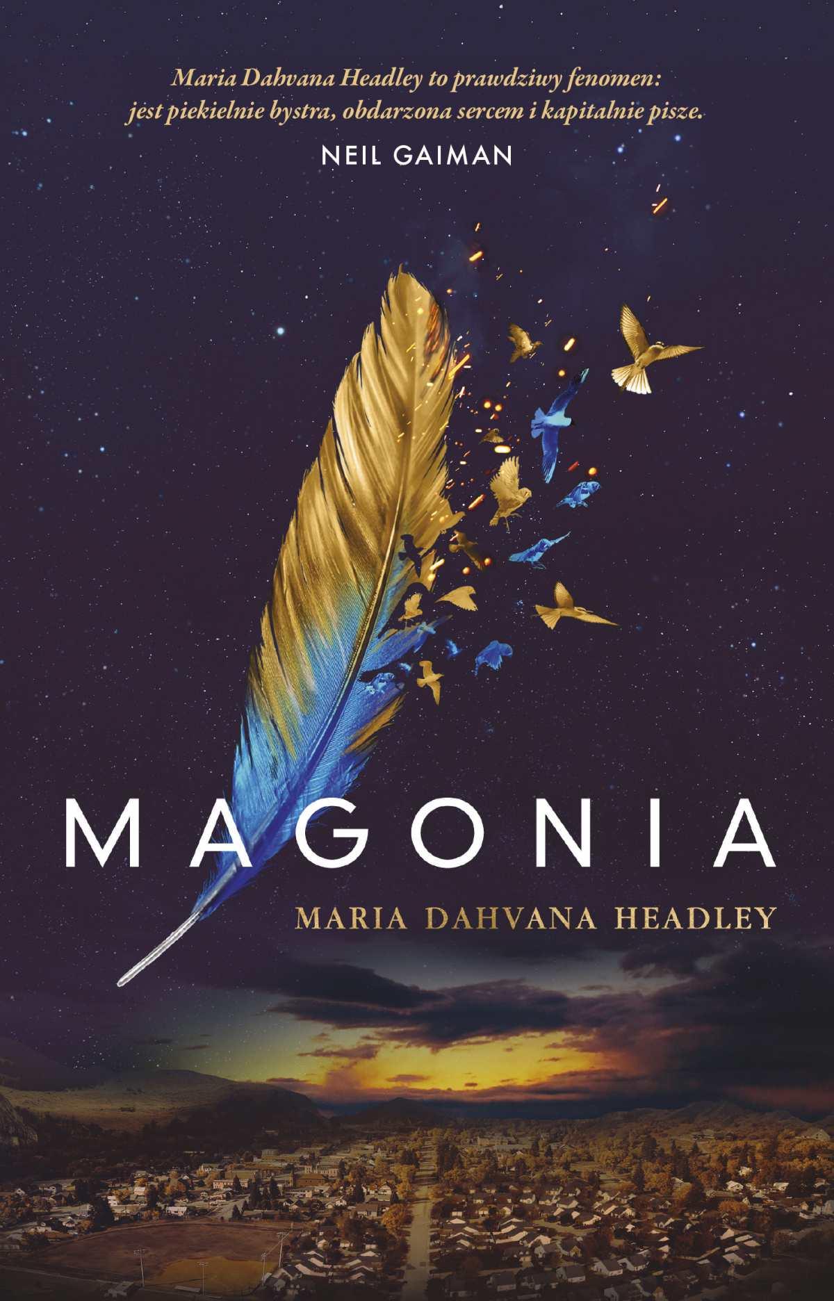 Magonia - Ebook (Książka na Kindle) do pobrania w formacie MOBI