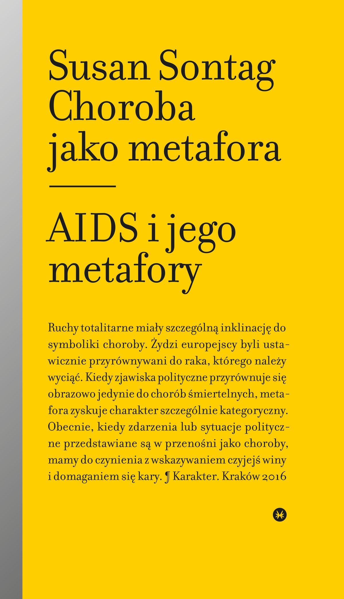 Choroba jako metafora. AIDS i jego metafory - Ebook (Książka EPUB) do pobrania w formacie EPUB