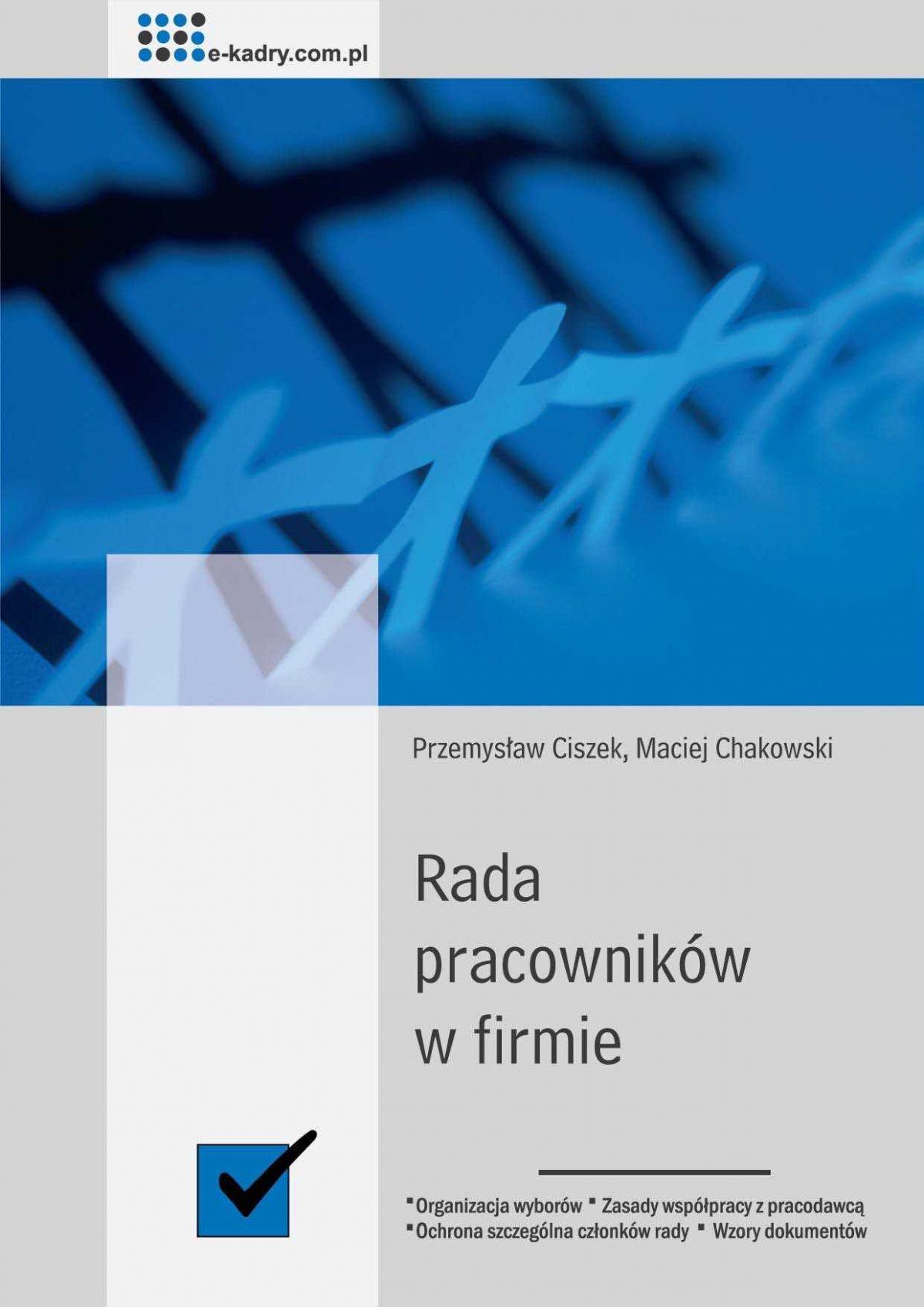 Rada pracowników w firmie - Ebook (Książka PDF) do pobrania w formacie PDF