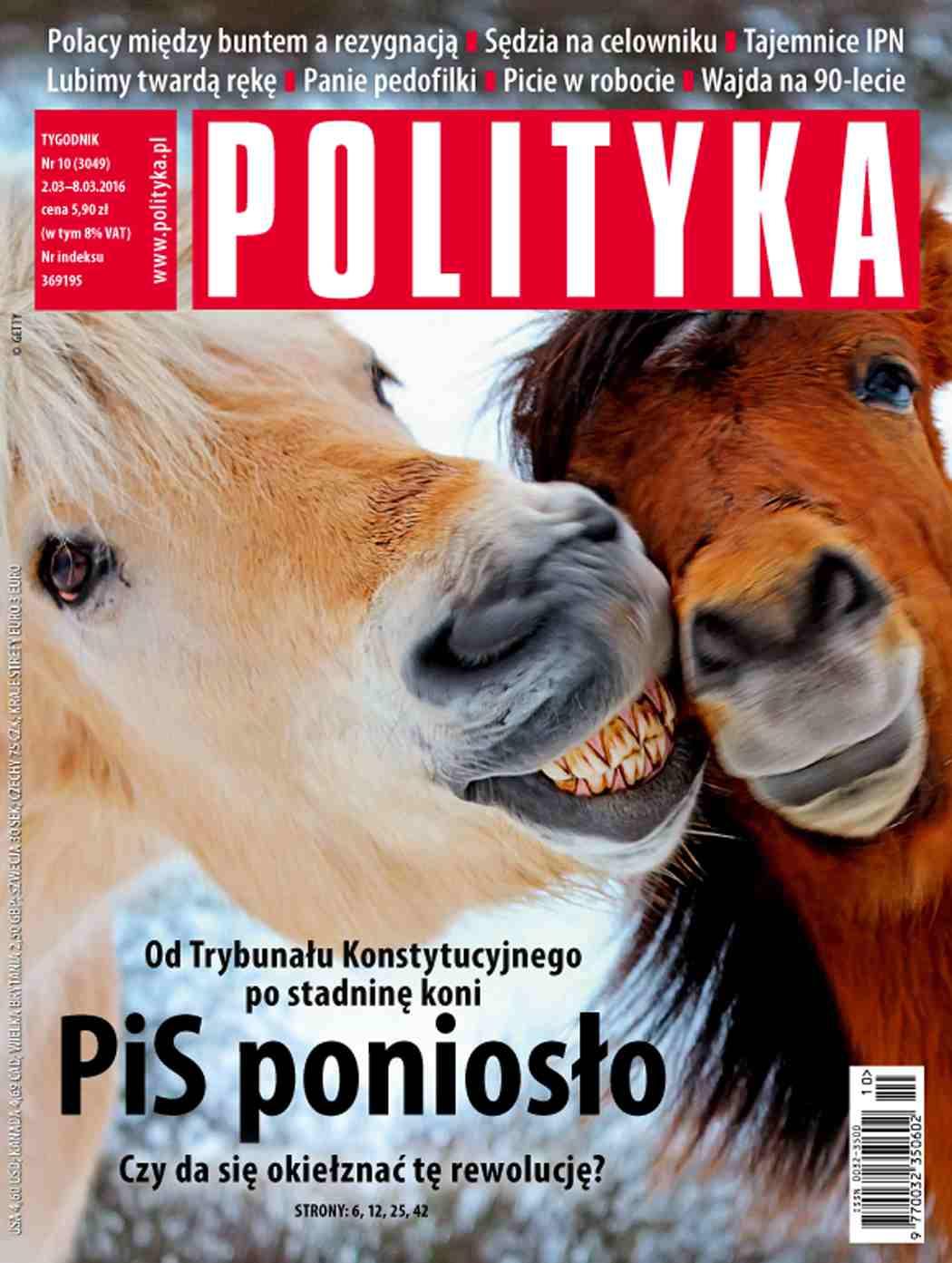 Polityka nr 10/2016 - Ebook (Książka PDF) do pobrania w formacie PDF