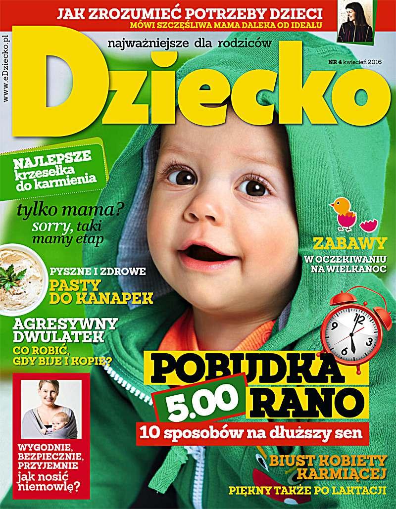 Dziecko 4/2016 - Ebook (Książka PDF) do pobrania w formacie PDF