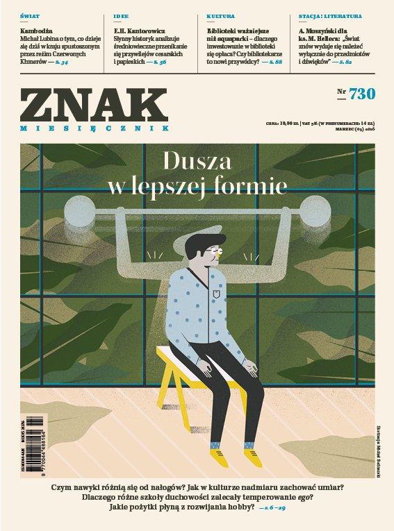 Miesięcznik Znak nr 730. Dusza w lepszej formie - Ebook (Książka EPUB) do pobrania w formacie EPUB