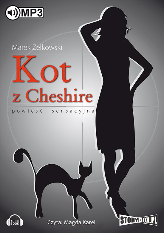 Kot z Cheshire - Audiobook (Książka audio MP3) do pobrania w całości w archiwum ZIP