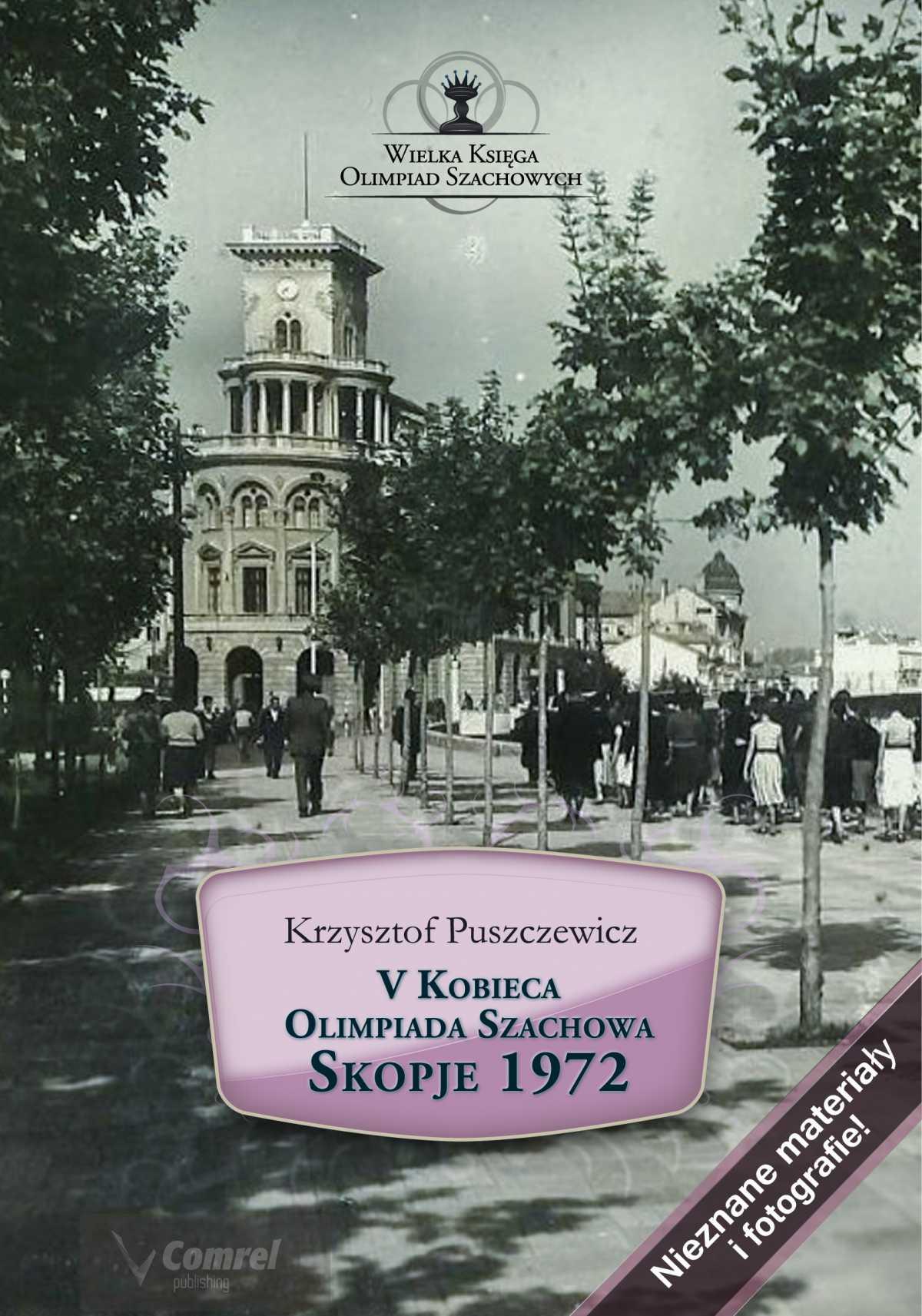 V Kobieca Olimpiada Szachowa. Skopje 1972 - Ebook (Książka PDF) do pobrania w formacie PDF