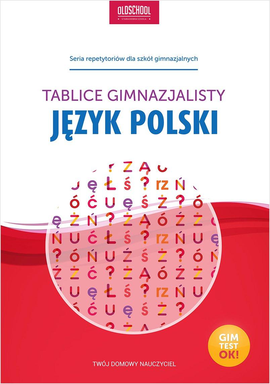 Język polski. Tablice gimnazjalisty - Ebook (Książka PDF) do pobrania w formacie PDF