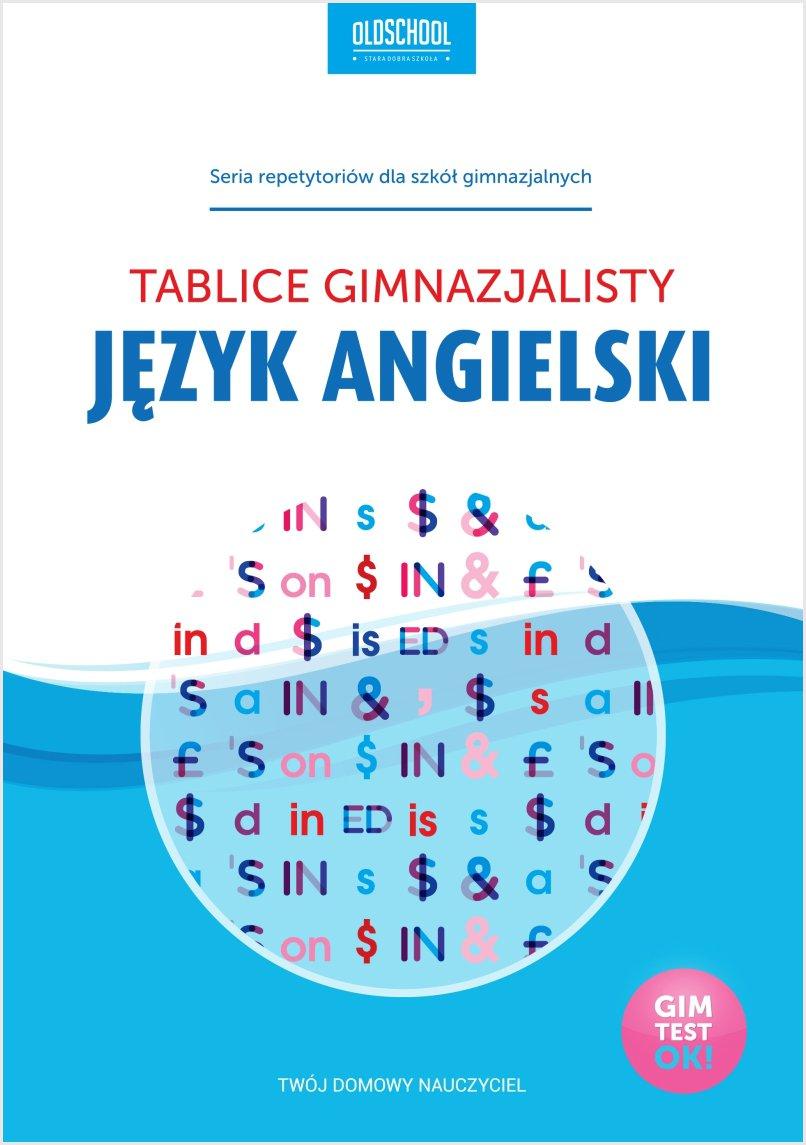 Język angielski. Tablice gimnazjalisty - Ebook (Książka PDF) do pobrania w formacie PDF