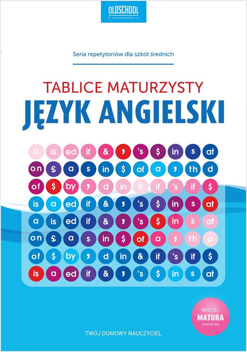 Język angielski. Tablice maturzysty - Ebook (Książka PDF) do pobrania w formacie PDF