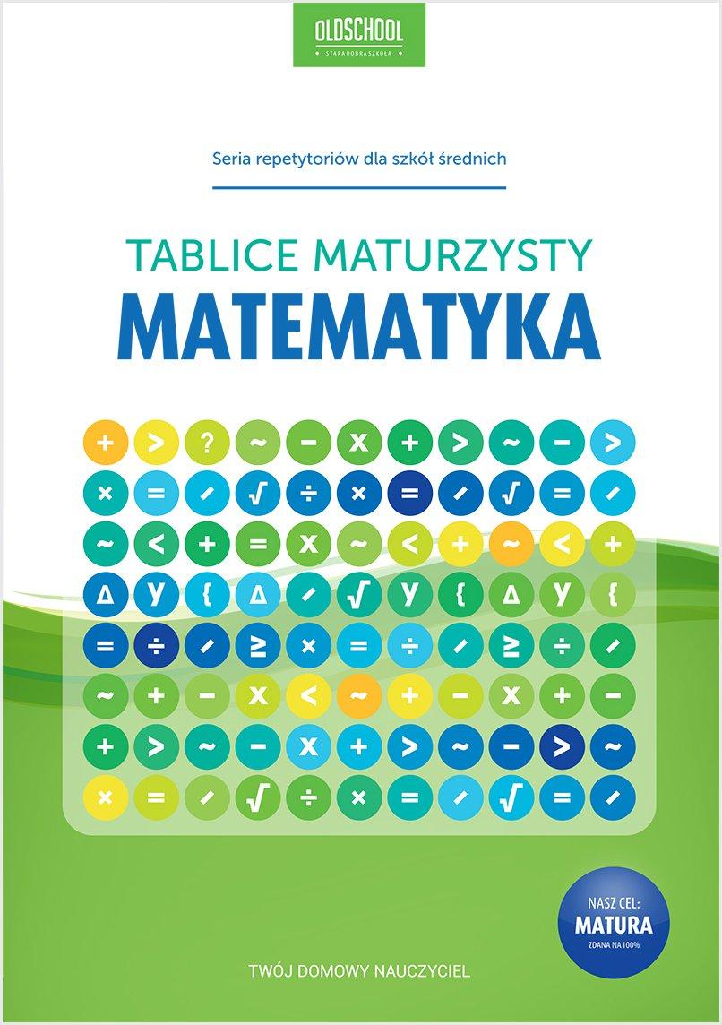 Matematyka. Tablice maturzysty - Ebook (Książka PDF) do pobrania w formacie PDF
