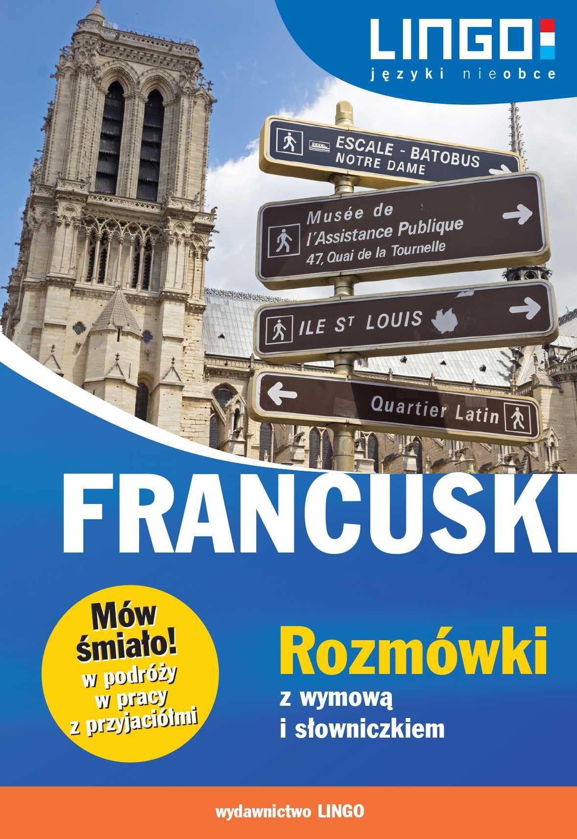 Francuski. Rozmówki z wymową i słowniczkiem - Ebook (Książka PDF) do pobrania w formacie PDF