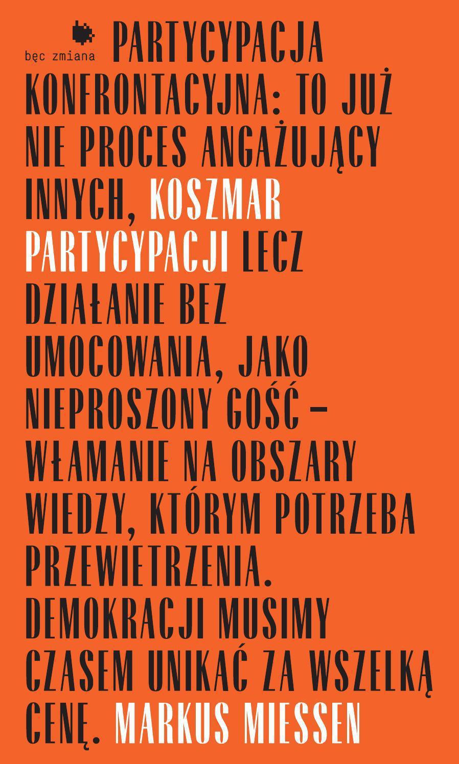 Koszmar partycypacji - Ebook (Książka EPUB) do pobrania w formacie EPUB