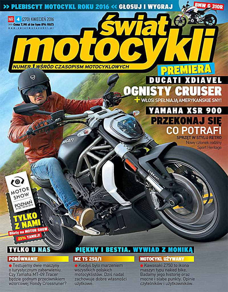 Świat Motocykli 4/2016 - Ebook (Książka PDF) do pobrania w formacie PDF