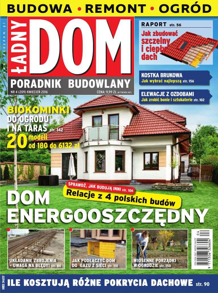 Ładny Dom 4/2016 - Ebook (Książka PDF) do pobrania w formacie PDF