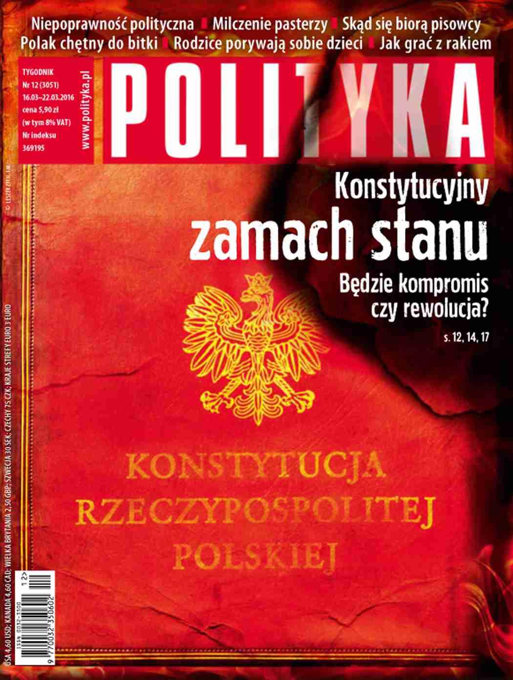 Polityka nr 12/2016 - Ebook (Książka PDF) do pobrania w formacie PDF