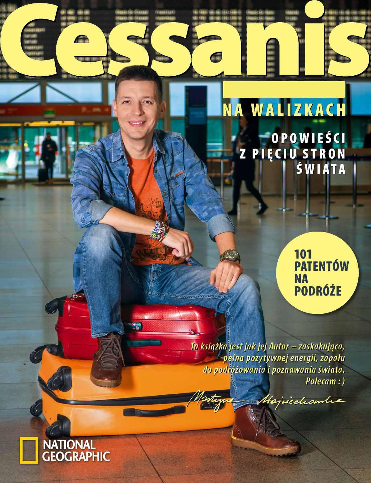 Michał Cessanis na walizkach. Opowieści z pięciu stron świata - Ebook (Książka na Kindle) do pobrania w formacie MOBI