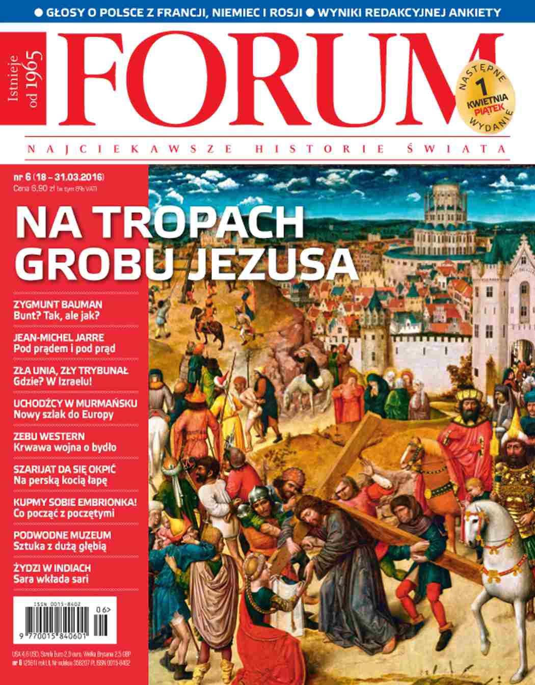 Forum nr 6/2016 - Ebook (Książka PDF) do pobrania w formacie PDF