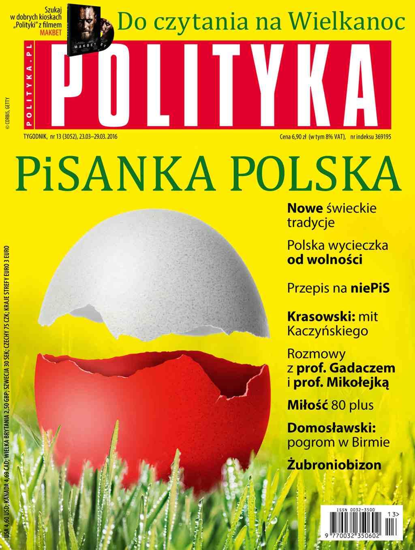 Polityka nr 13/2016 - Ebook (Książka PDF) do pobrania w formacie PDF