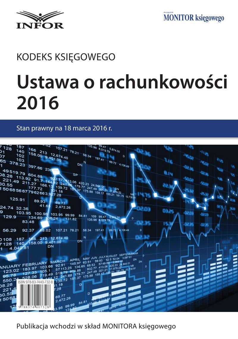 Ustawa o rachunkowości 2016 - Ebook (Książka PDF) do pobrania w formacie PDF