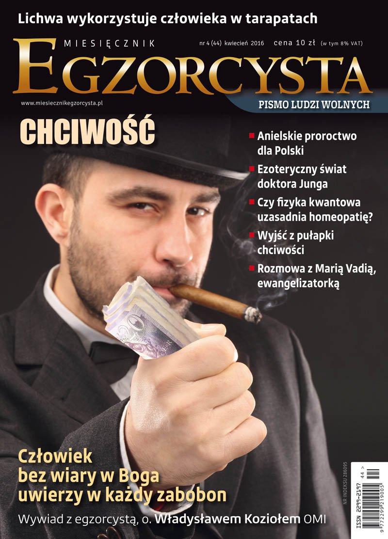 Miesięcznik Egzorcysta. Kwiecień 2016 - Ebook (Książka PDF) do pobrania w formacie PDF
