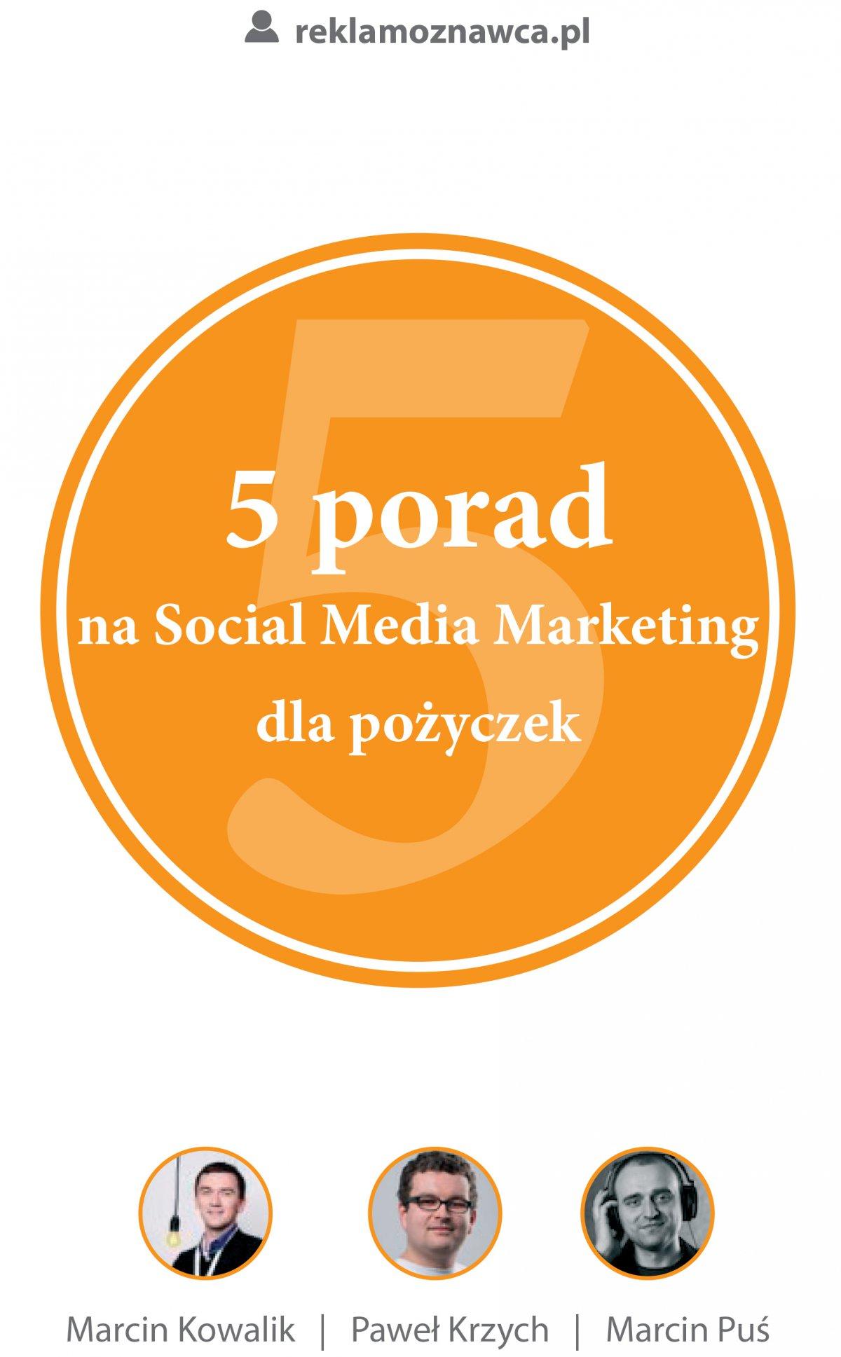 5 porad na Social Media Marketing dla pożyczek - Ebook (Książka na Kindle) do pobrania w formacie MOBI