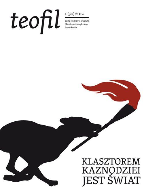Teofil 1 (30) 2012 Klasztorem Kaznodziei jest świat - Ebook (Książka EPUB) do pobrania w formacie EPUB
