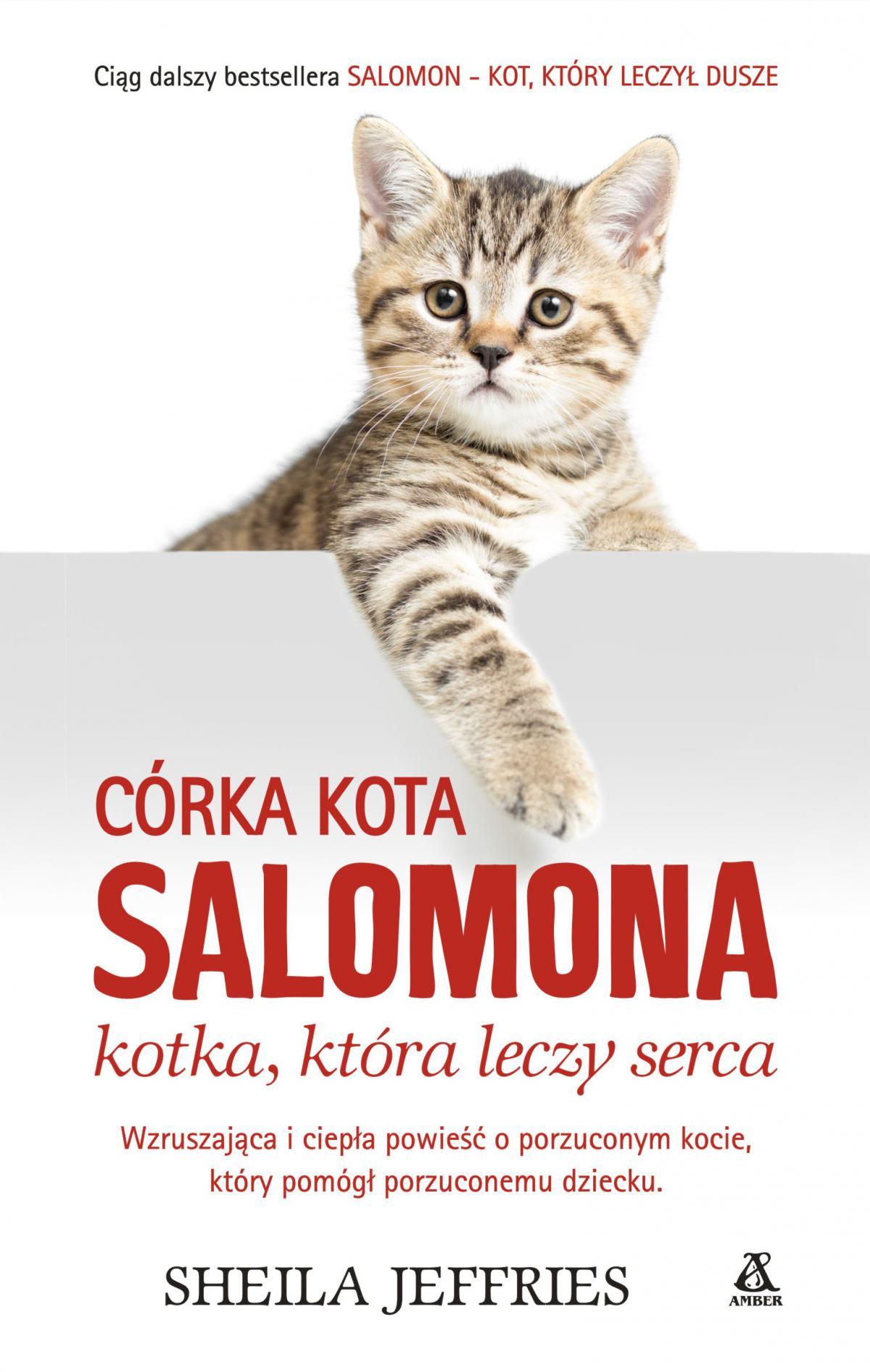 Córka kota Salomona - kotka, która leczy serca - Ebook (Książka EPUB) do pobrania w formacie EPUB
