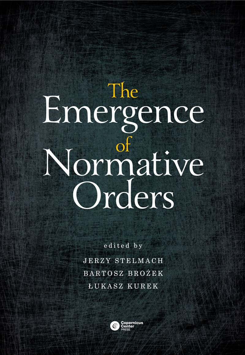The Emergence of Normative Orders - Ebook (Książka EPUB) do pobrania w formacie EPUB
