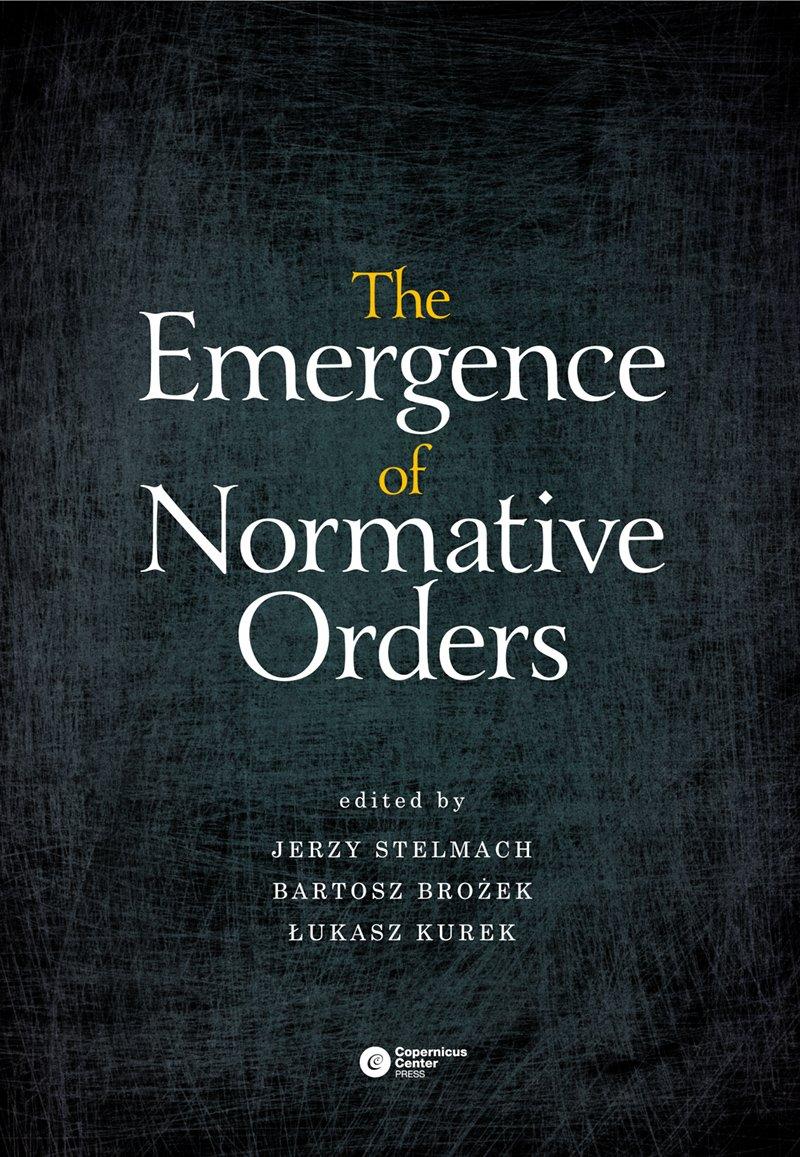 The Emergence of Normative Orders - Ebook (Książka EPUB) do pobrania w formacie EPUB