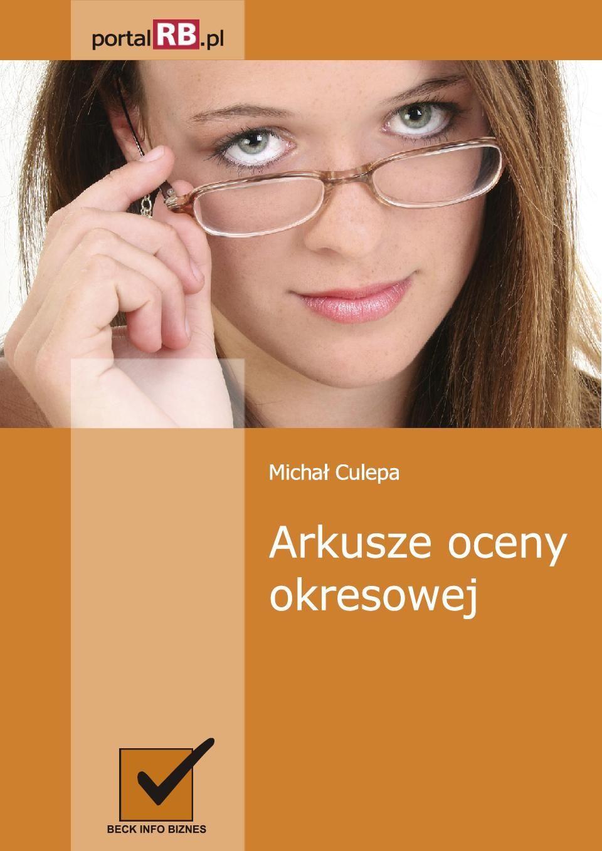 Arkusze oceny okresowej - Ebook (Książka PDF) do pobrania w formacie PDF