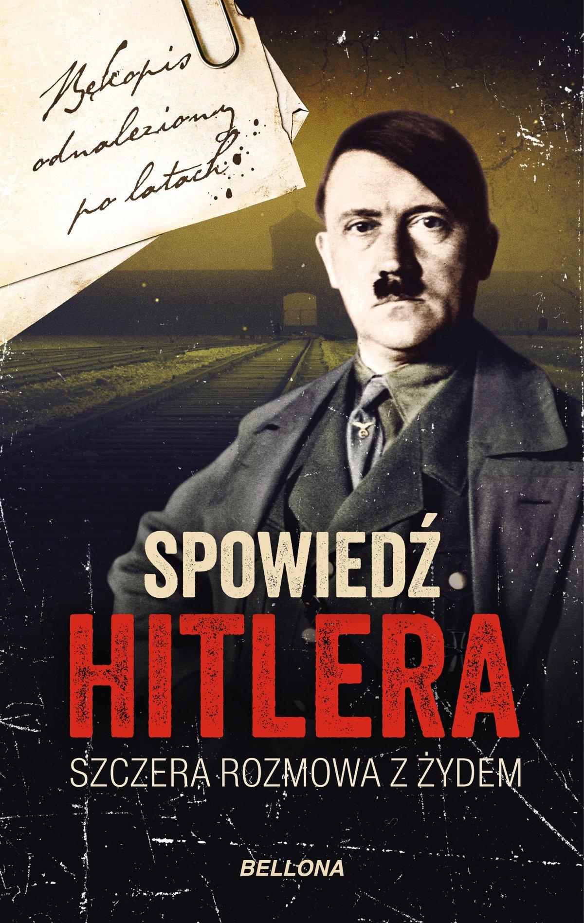 Spowiedź Hitlera. Szczera rozmowa z Żydem - Ebook (Książka EPUB) do pobrania w formacie EPUB