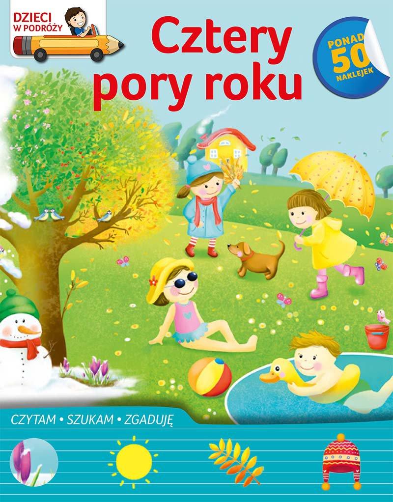 Dzieci w podróży. Cztery pory roku - Ebook (Książka PDF) do pobrania w formacie PDF