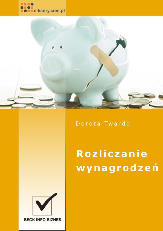 Rozliczanie wynagrodzeń - Ebook (Książka PDF) do pobrania w formacie PDF