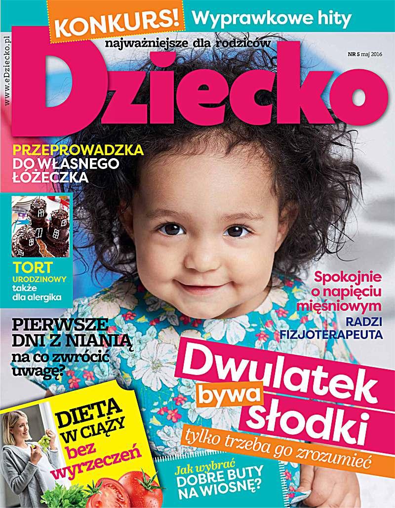 Dziecko 5/2016 - Ebook (Książka PDF) do pobrania w formacie PDF