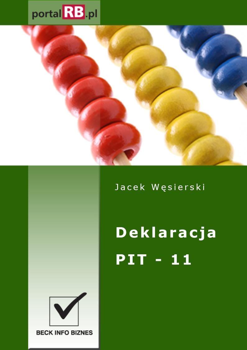 Deklaracja PIT-11 - Ebook (Książka PDF) do pobrania w formacie PDF
