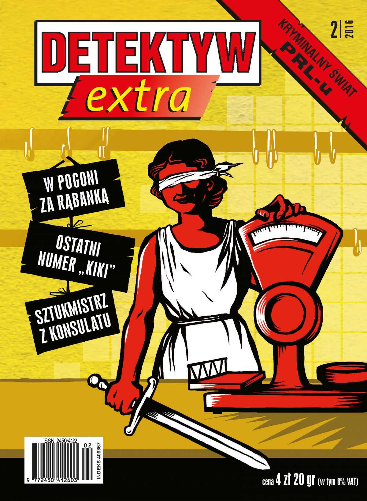 Detektyw Extra 2/2016 - Ebook (Książka na Kindle) do pobrania w formacie MOBI