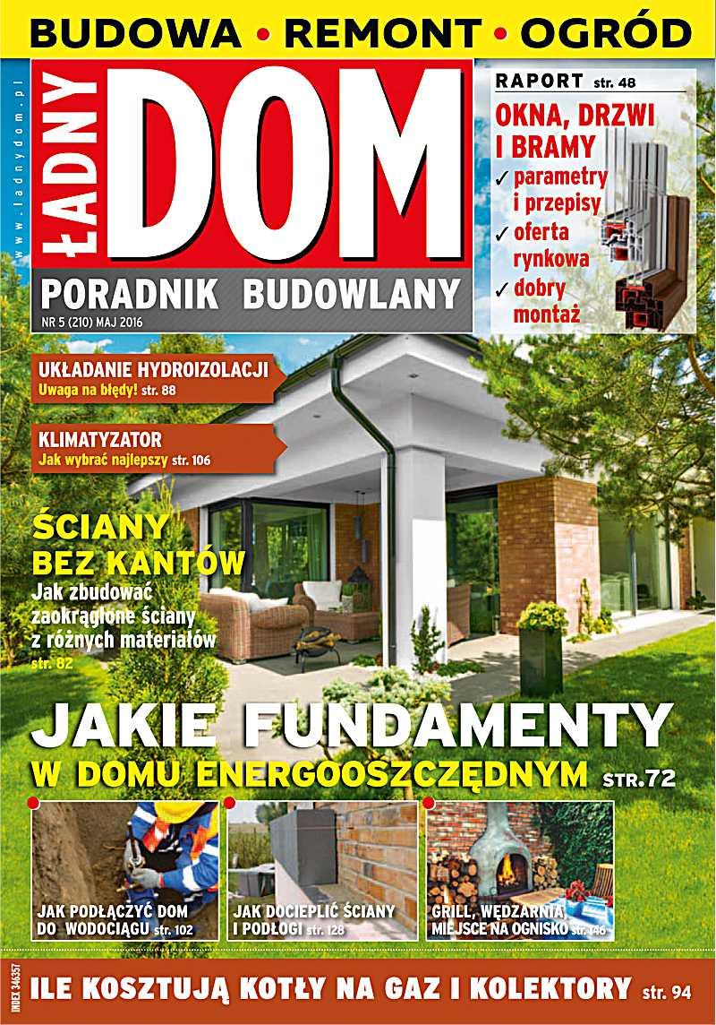 Ładny Dom 5/2016 - Ebook (Książka PDF) do pobrania w formacie PDF