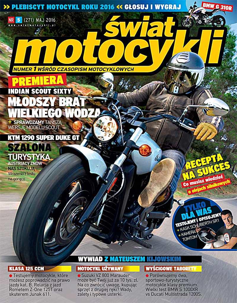 Świat Motocykli 5/2016 - Ebook (Książka PDF) do pobrania w formacie PDF