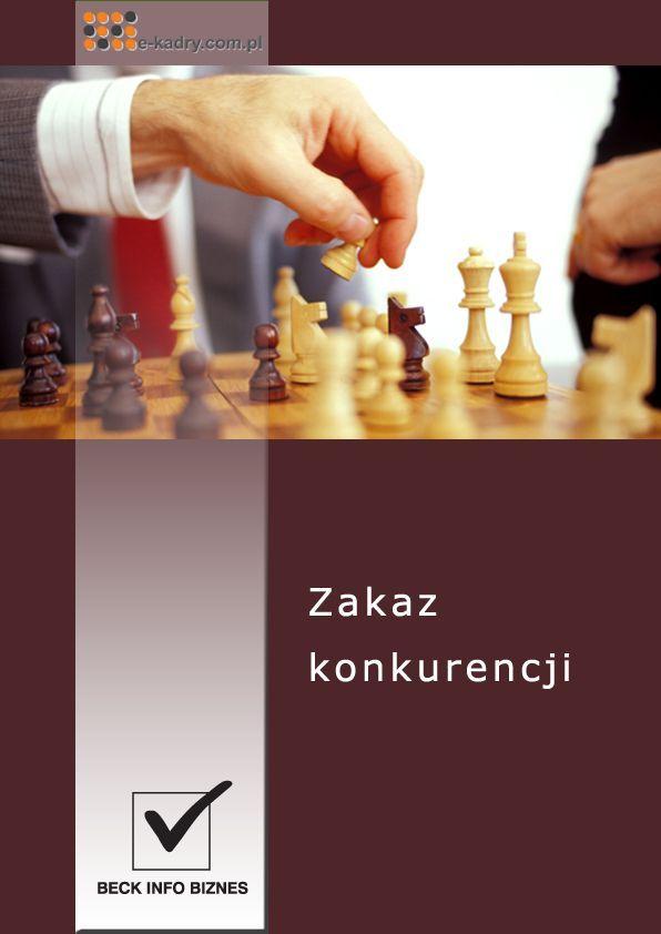 Zakaz konkurencji - Ebook (Książka PDF) do pobrania w formacie PDF