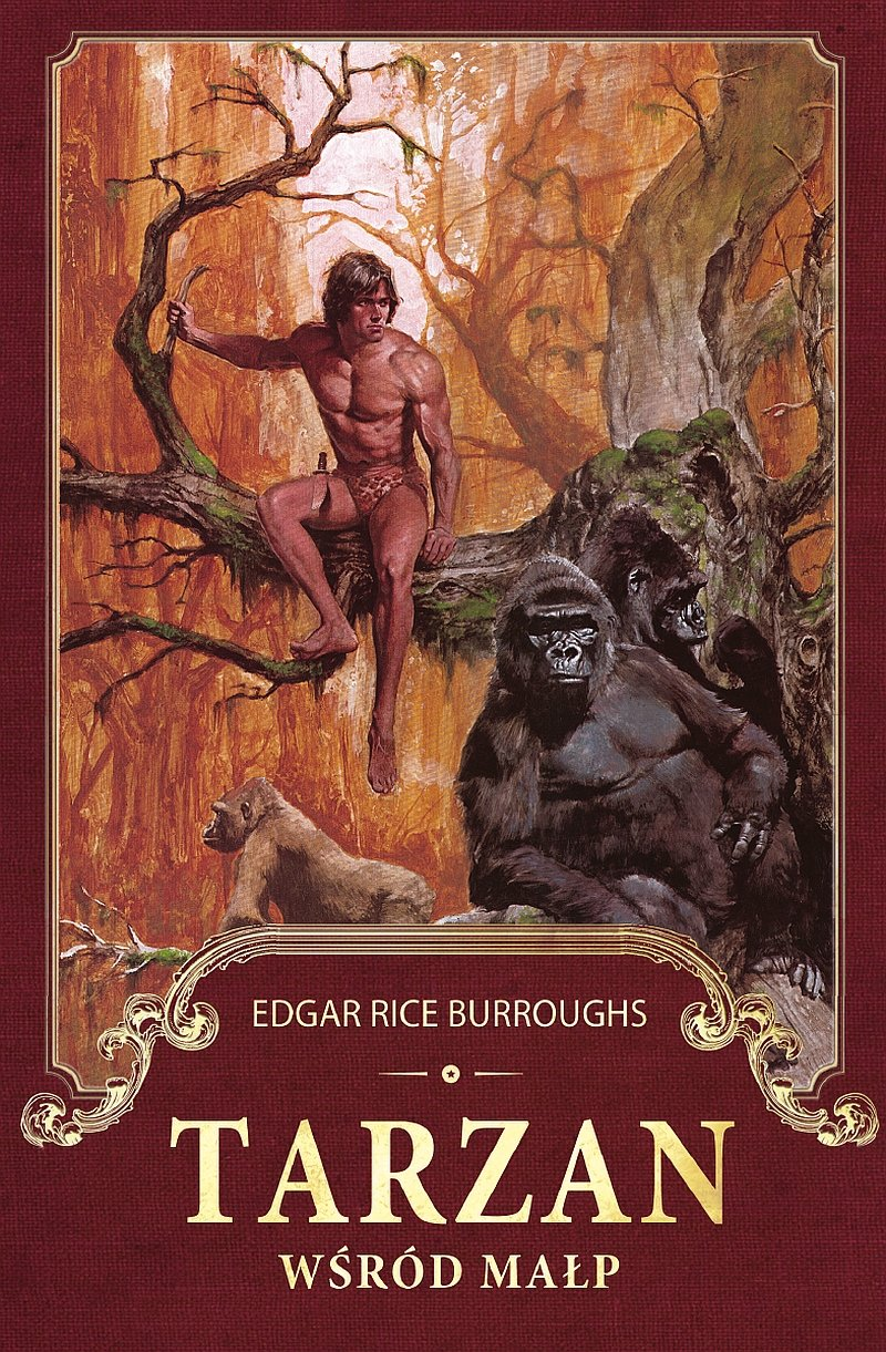 Tarzan wśród małp - Ebook (Książka na Kindle) do pobrania w formacie MOBI