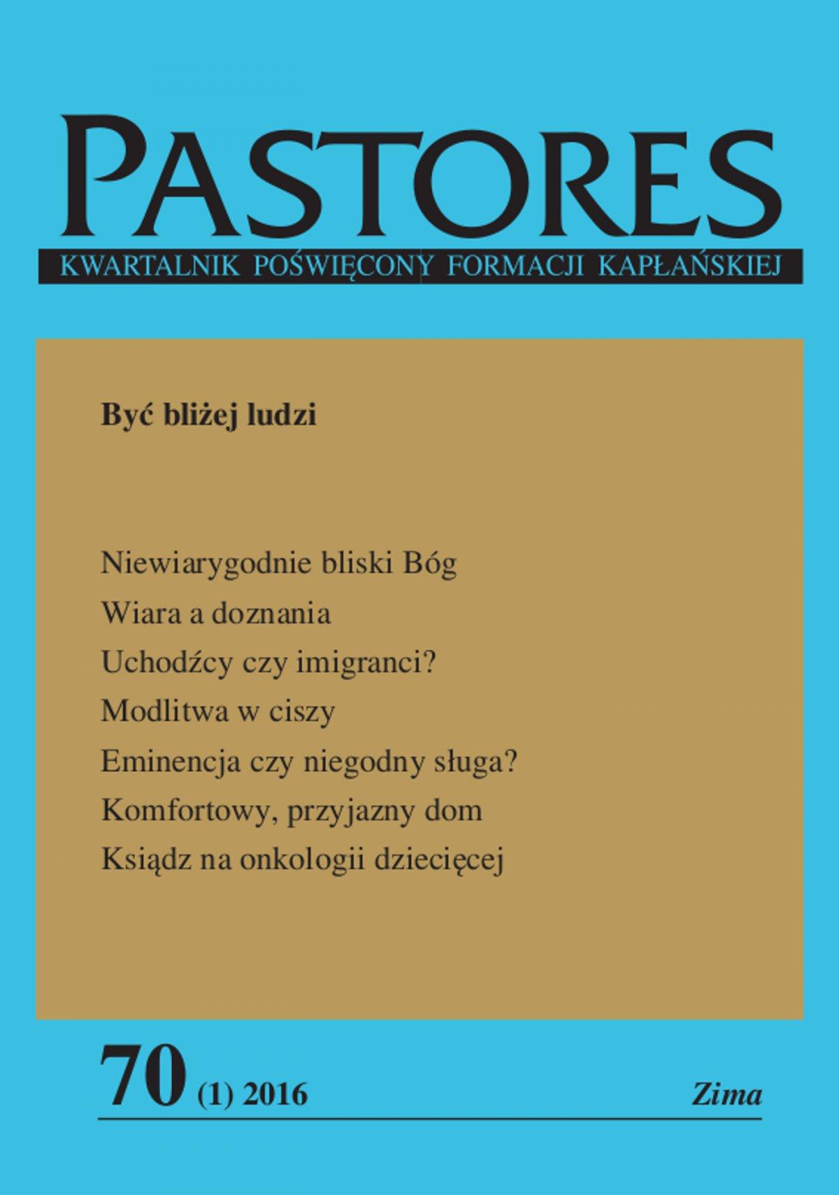 Pastores 70 (1) 2016 - Ebook (Książka EPUB) do pobrania w formacie EPUB
