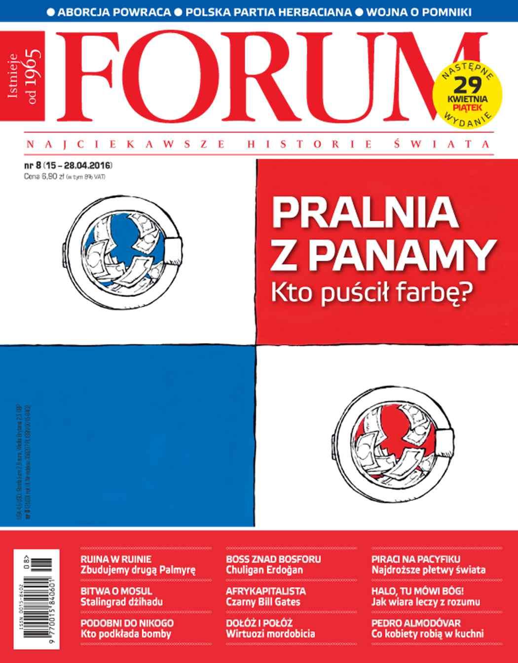 Forum nr 8/2016 - Ebook (Książka PDF) do pobrania w formacie PDF