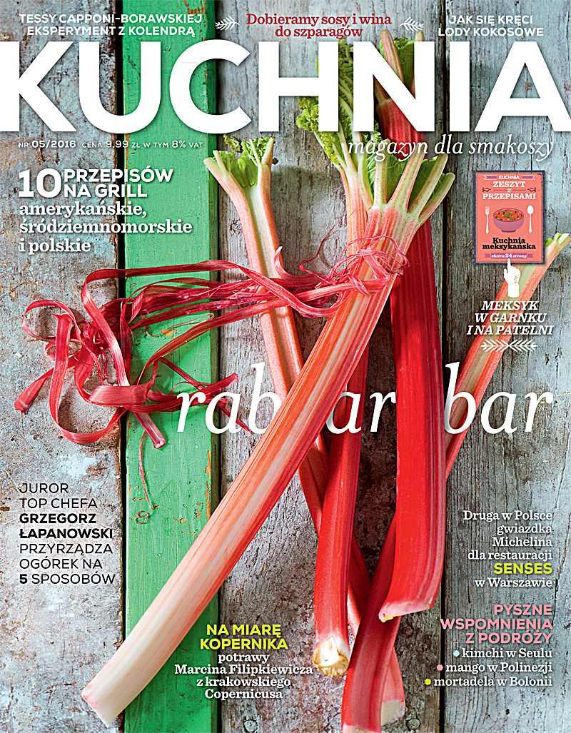 Kuchnia 5/2016 - Ebook (Książka PDF) do pobrania w formacie PDF