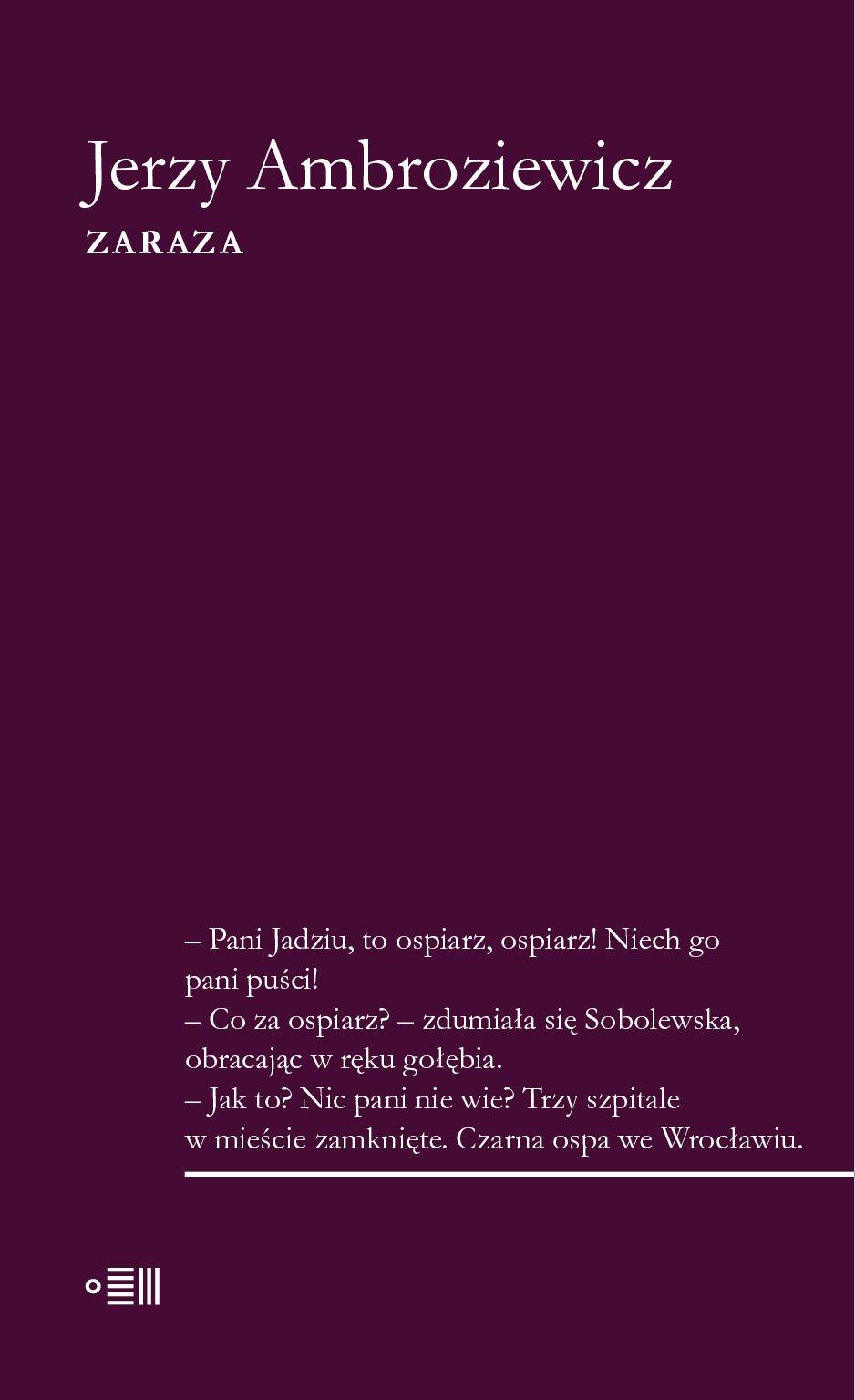 Zaraza - Ebook (Książka EPUB) do pobrania w formacie EPUB