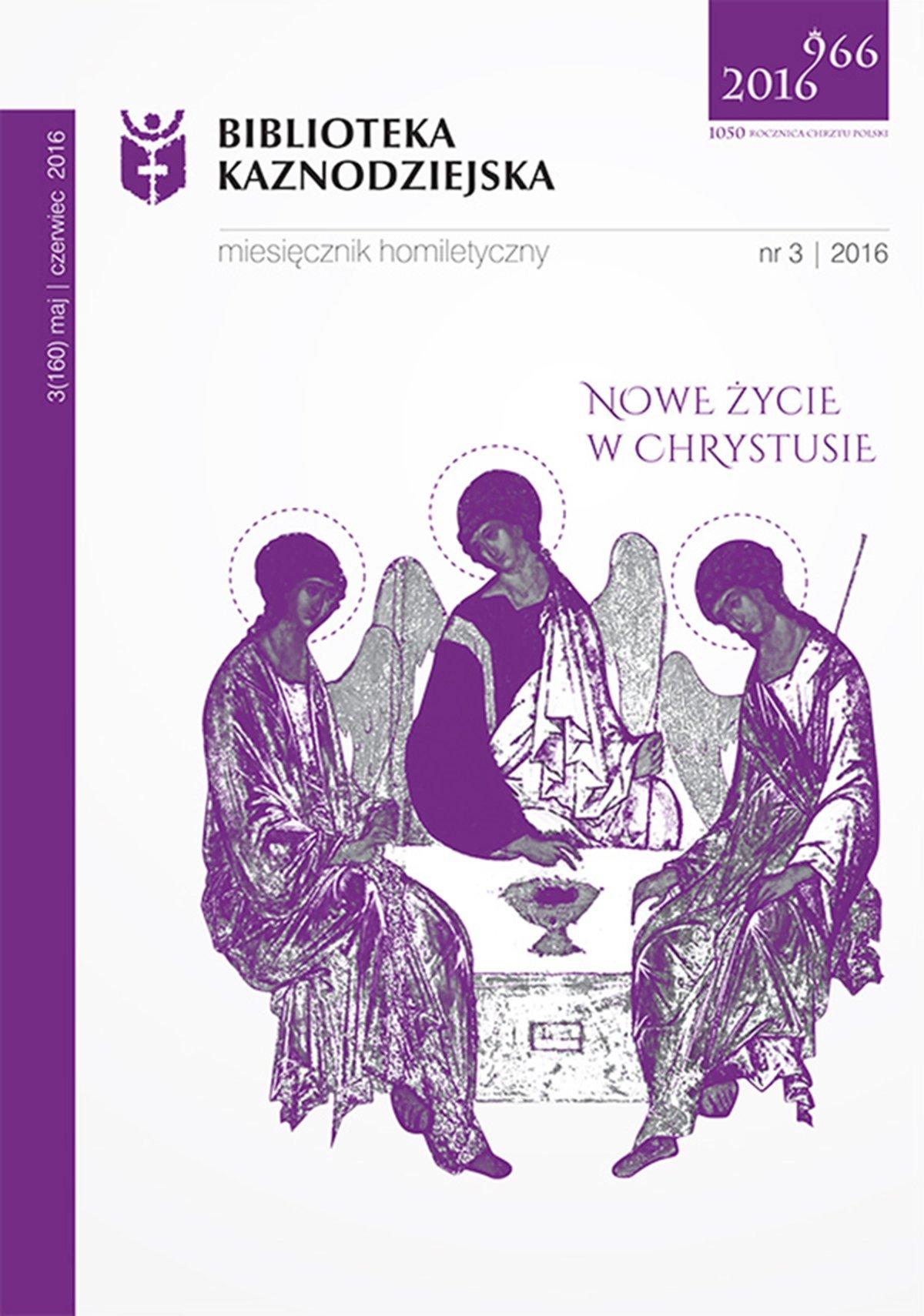 Biblioteka Kaznodziejska nr 03/2016 - Ebook (Książka na Kindle) do pobrania w formacie MOBI