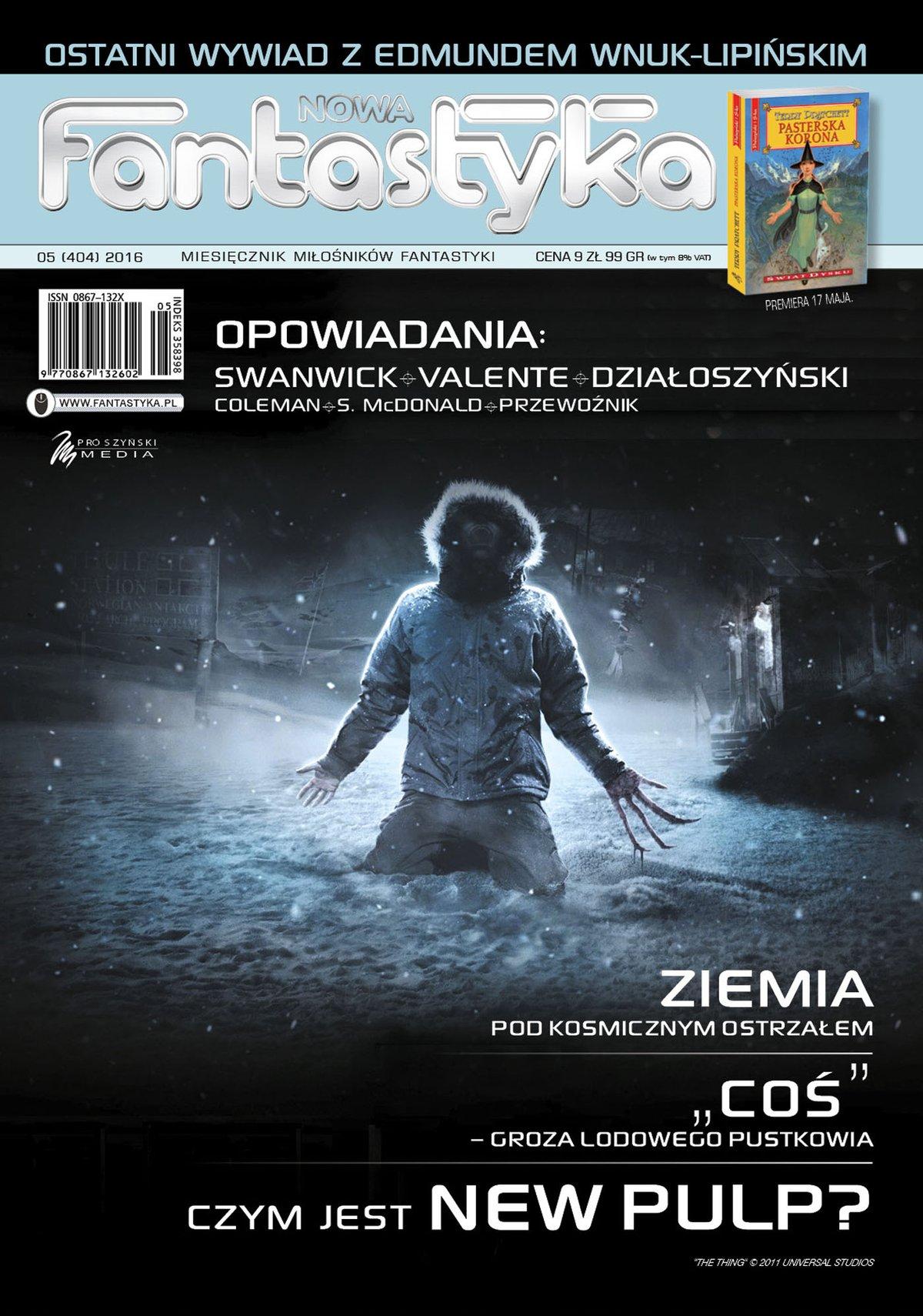 Nowa Fantastyka 05/2016 - Ebook (Książka EPUB) do pobrania w formacie EPUB
