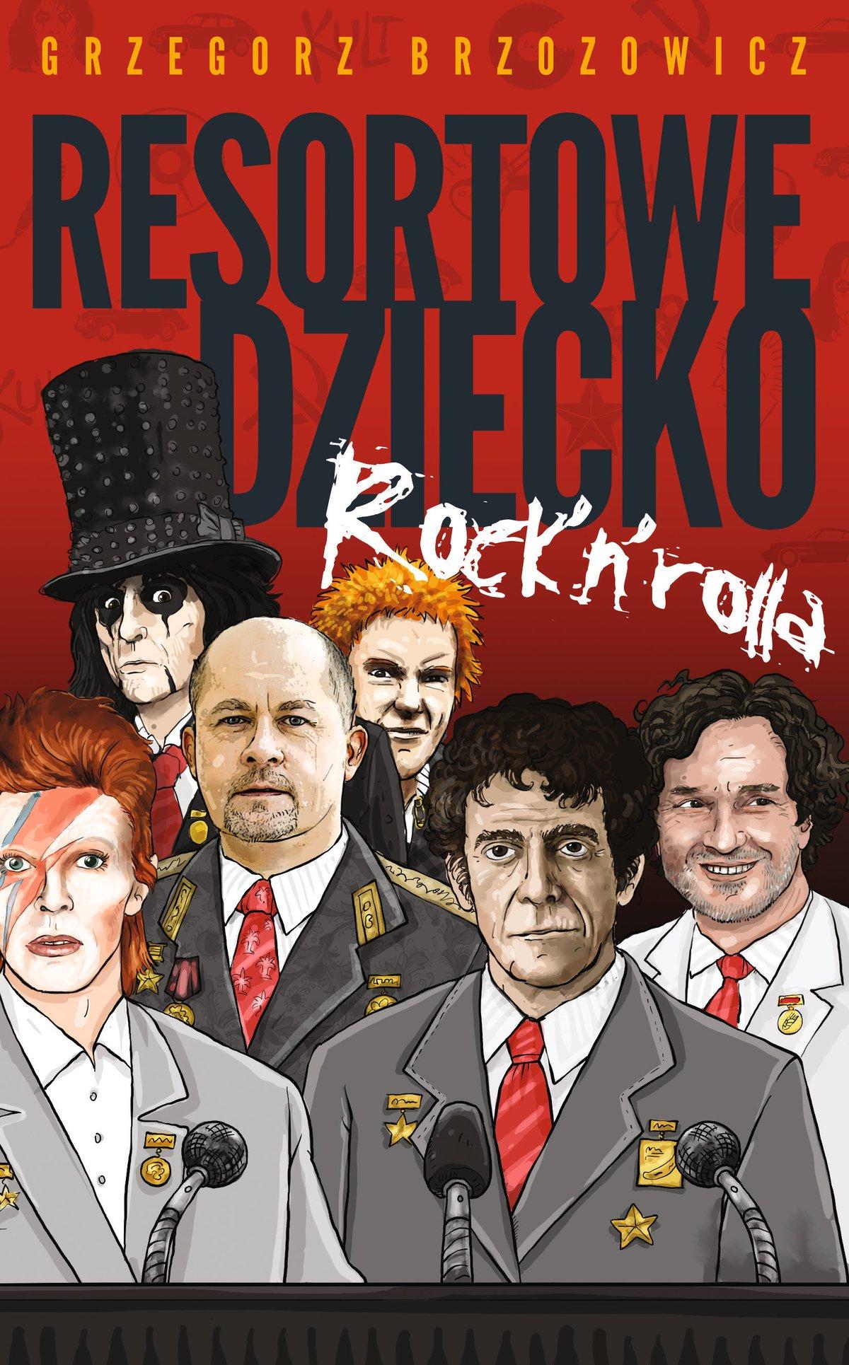 Resortowe dziecko Rock'n'Rolla - Ebook (Książka na Kindle) do pobrania w formacie MOBI