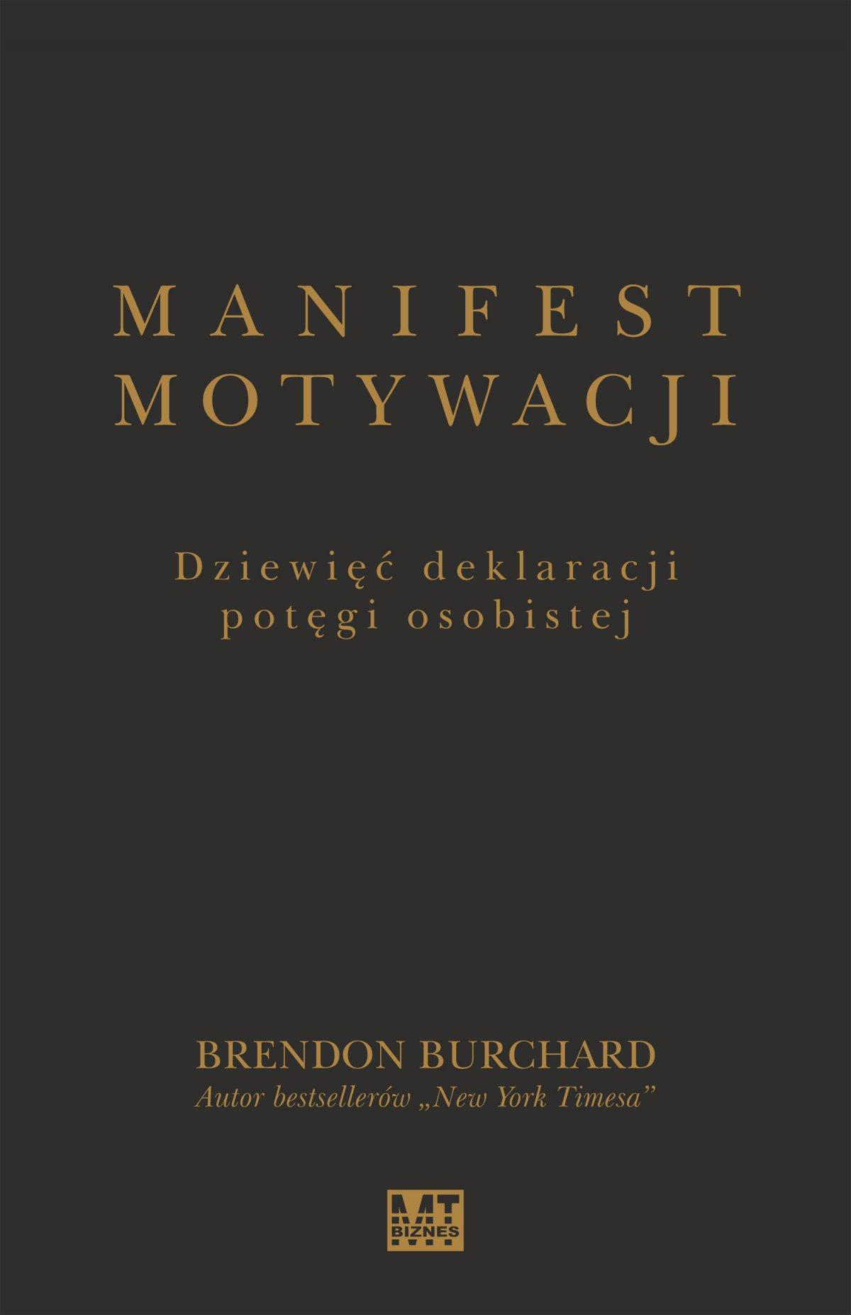 Manifest motywacji - Ebook (Książka EPUB) do pobrania w formacie EPUB