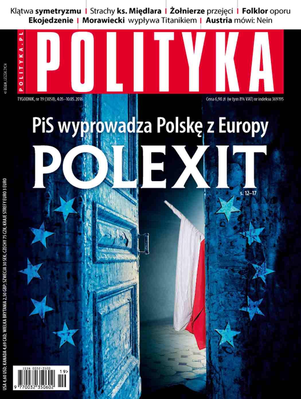 Polityka nr 19/2016 - Ebook (Książka PDF) do pobrania w formacie PDF